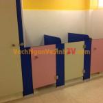 Vách ngăn vệ sinh Trường Mầm Non tại Đà Lạt, Tỉnh Lâm Đồng