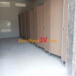 Vách ngăn toilet cho nhà vệ sinh tại Trung Tâm Giải Trí Cà Na, Tây Ninh