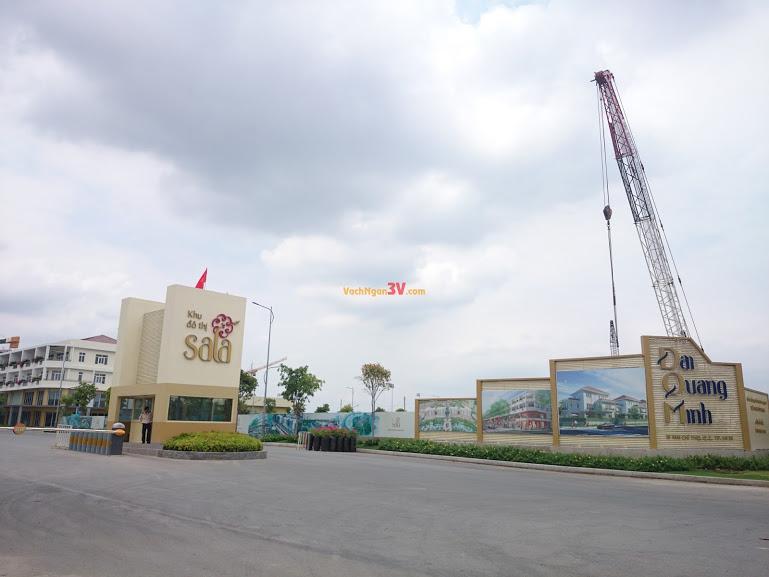 Vách ngăn vệ sinh Compact HPL tại Công ty Đại Quang Minh, Quận 2, TPHCM