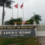 Vách ngăn vệ sinh chịu nước tại Công ty Lucky Star, TPHCM