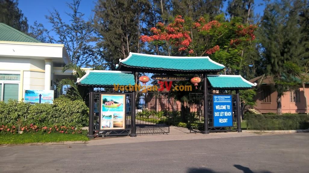 Vách ngăn nhà vệ sinh tại Resort Doclet, Nha Trang, Khánh Hòa