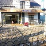 Vách ngăn vệ sinh tại Nhà hàng tiệc cưới Tâm Đắc, Đà Lạt, Lâm Đồng