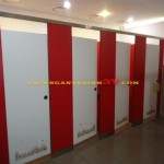 Vách ngăn compact HPL cho Ngân hàng tại Đà Nẵng