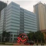 3V thi công Vách ngăn vệ sinh tòa nhà Trung Tín – Hà Nội