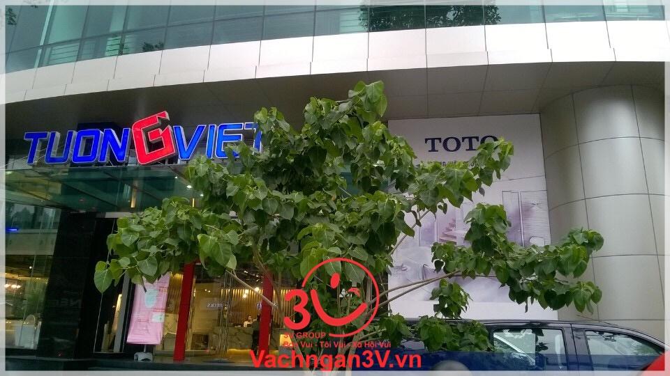 3V GROUP thi công vách ngăn vệ sinh compact tòa nhà Tường Việt – Tp. Hồ Chí Minh