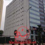 3V thi công vách ngăn vệ sinh Compact  HPL Tòa nhà Trung Tín Building – Hà Nội