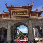 3V thi công vách ngăn HPL chùa Quan Âm – Ninh Thuận