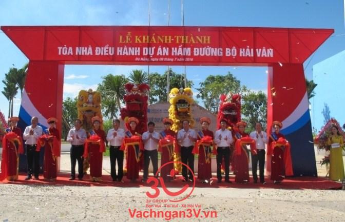 3V thi công vách ngăn vệ sinh dự án nhà điều hành hầm Hải Vân – Đà Nẵng