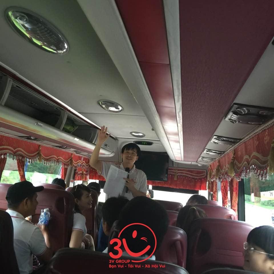 Sáng ngày 8/10/2016, chuyến xe tràn đầy niềm háo hức và tiếng cười vui bắt đầu chuyển bánh từ Tp. Hồ Chí Minh tiến ra Phan Thiết