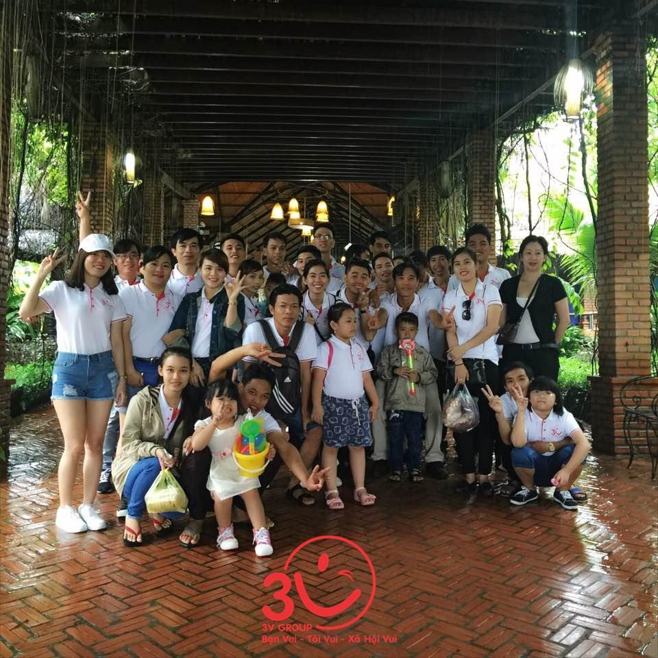 Không quản ngại khoảng cách Băc – Trung – Nam, thành viên các chi nhánh của công ty 3V tại Tp. Hồ Chí Minh – Đà Nẵng - Hà Nội – Cần Thơ đã cùng nhau hội ngộ đông đủ tại Phan Thiết