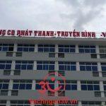 3V thi công  Vách ngăn vệ sinh Dự án Đài phát thanh Quán Tre tại quận 12 – TP HCM