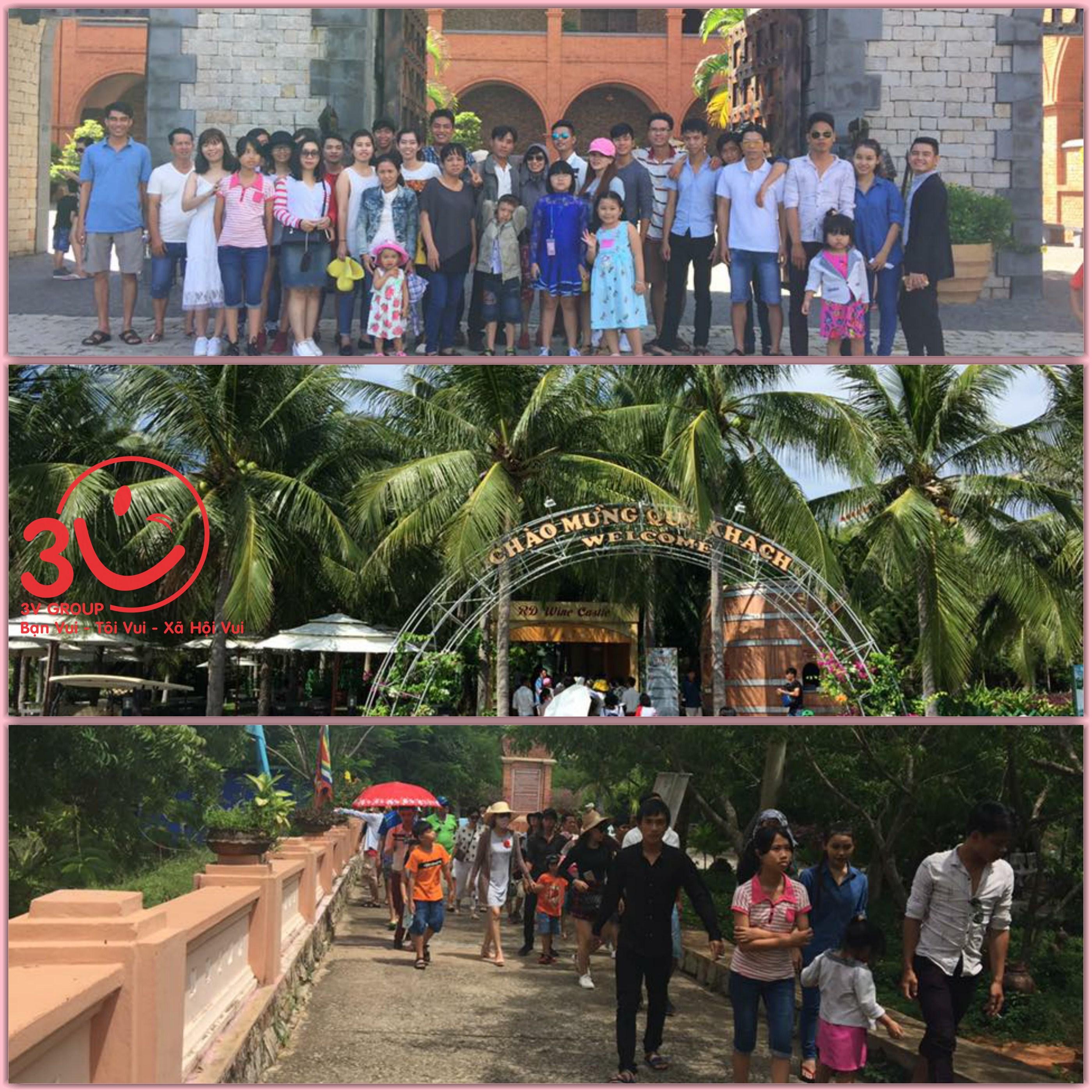 Sáng hôm sau, tạm rời xa khu nghỉ dưỡng, đoàn du lịch 3V được đưa đến những cảnh đẹp nổi tiếng của Phan Thiết