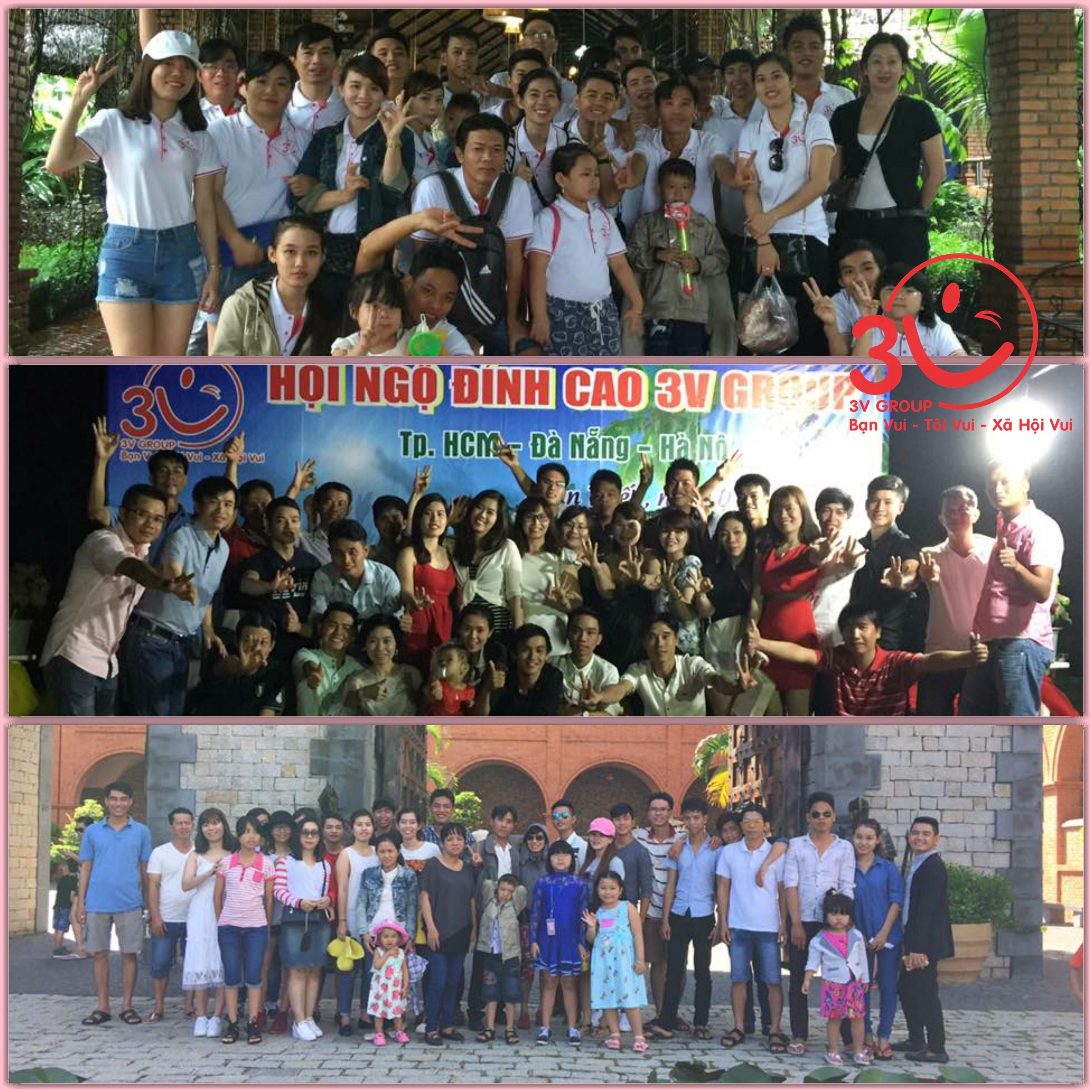 các thành viên 3V của Tp. Hồ Chí Minh – Đà Nẵng - Hà Nội – Cần Thơ đã trao nhau để cùng tạo nên một chuyến đi happy trip, để lại dấu ấn tốt đẹp trong lòng mỗi cá nhân tham gia.