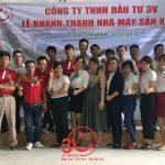 Lễ khánh thành nhà máy sản xuất công ty TNHH Đầu tư 3V
