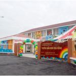 Bàn giao công trình làm vách ngăn nhà vệ sinh Trường mầm non Hoa Hồng (Thủ Đức)