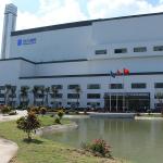 3V thi công vách ngăn phòng vệ sinh nhà máy rác thải tại Cần Thơ