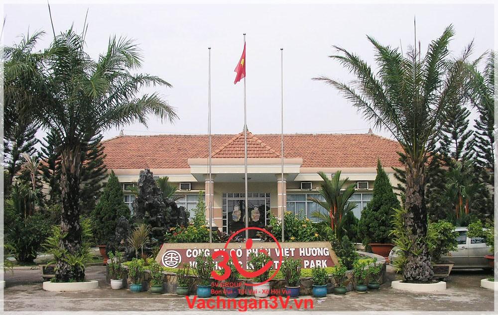 3V cung cấp và thi công vách ngăn vệ sinh tại Khu công nghiệp Việt Hương 2 – Bình Dương