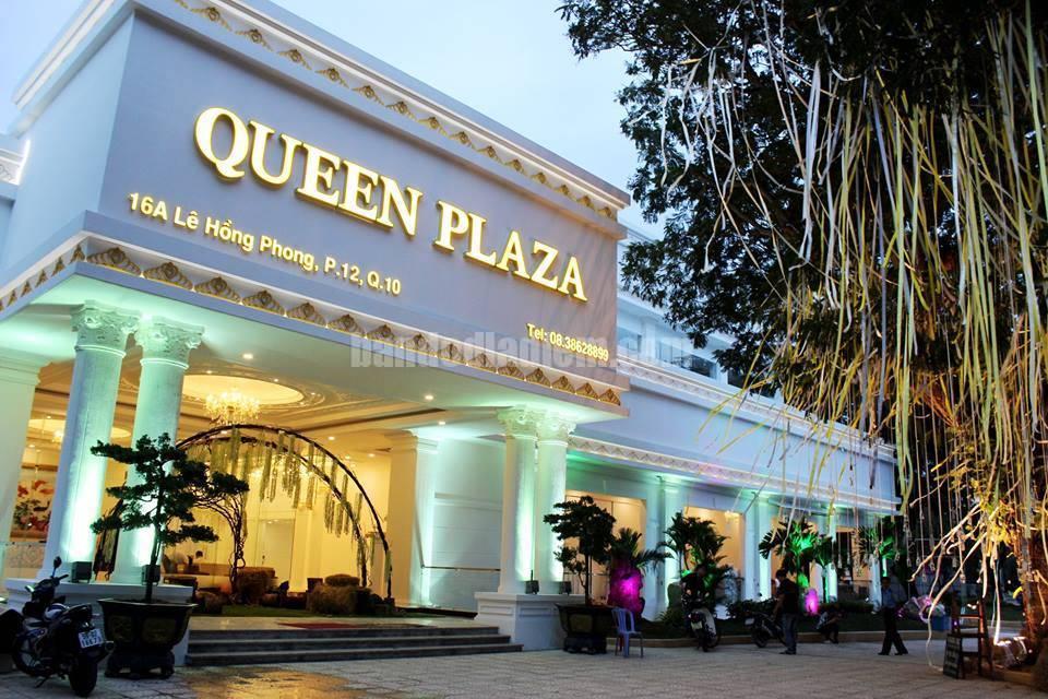 Mẫu vách ngăn nhà vệ sinh Queen Plaza  Kỳ Hòa mang tính thẩm mỹ cao