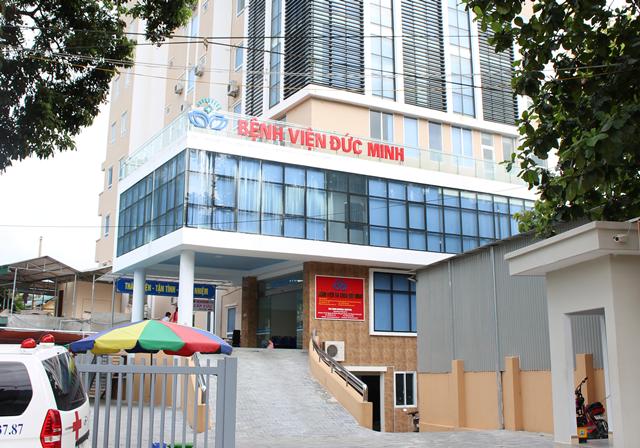 Lắp đặt vách ngăn wc ở Bệnh viện đa khoa Đức Minh, Hà Giang