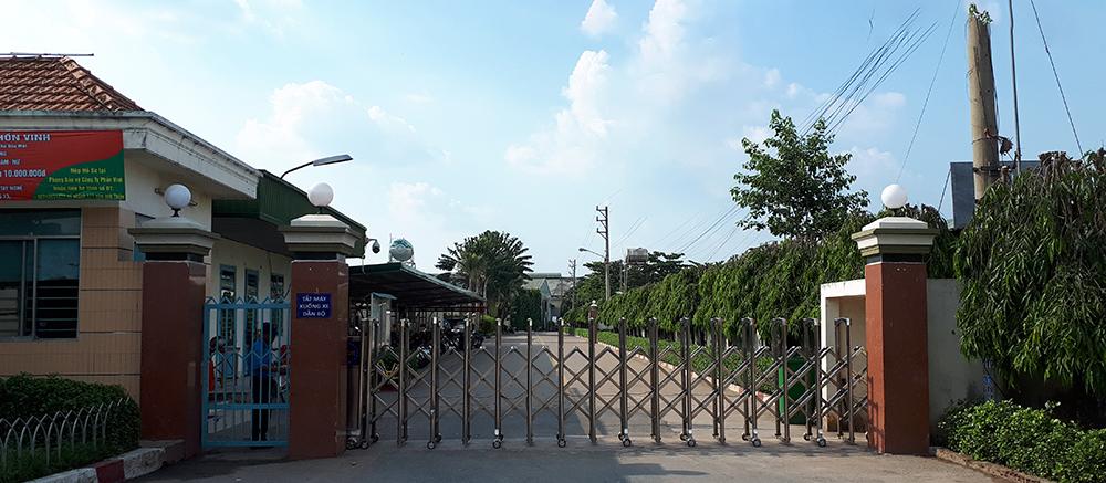 Thi công vách ngăn toilet ở Công Ty Phồn Vinh, Thủ Dầu Một, Bình Dương
