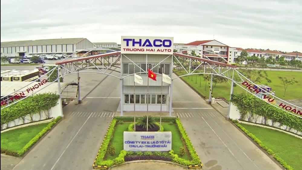 Lắp đặt vách vệ sinh Công ty TNHH Sản xuất và lắp ráp ô tô du lịch Trường Hải Kia, Quảng Nam