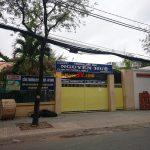 Lắp đặt vách ngăn toilet ở Trường tiểu học Nguyễn Huệ TPHCM