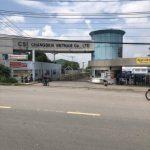Thi công vách ngăn toilet Nhà máy Chang Shin Long Thành, Đồng Nai