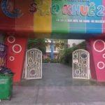 Làm vách ngăn nhà vệ sinh cho Trường mầm non Sao Khuê, Biên Hoà, Đồng Nai