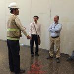 Lắp đặt tấm nhựa compact ở Chung cư Oriental, Quận Tân Phúc, TPHCM
