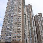 Thi công vách compact hpl ở chung cư cao tầng, dịch vụ thương mại HH6, Hà Nội