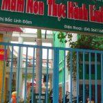 Làm vách ngăn wc ở Trường mầm non Linh Đàm, Hà Nội