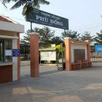 Thi công vách ngăn wc compact hpl Trường Tiểu học Phù Đổng, TP HCM