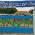 Dự án làm vách ngăn wc tại Trường Mầm Non Sen Hồng