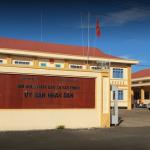 3V bàn giao vách ngăn nhà vệ sinh compact đẹp cho UBND Xã Bàu Chính