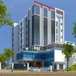Dự án vách ngăn vệ sinh compact HPL Bệnh viện Đa khoa Đức Minh TP Hà Giang