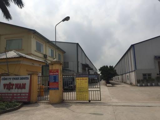 Làm vách ngăn nhà vệ sinh tại Công ty TNHH ĐENTA