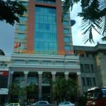 Vách ngăn phòng vệ sinh Compact HPL tại Ngân hàng Nhà nước Việt Nam