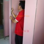 VachNgan3V.com cung cấp vách ngăn WC ở Khách Sạn tại Đà Nẵng