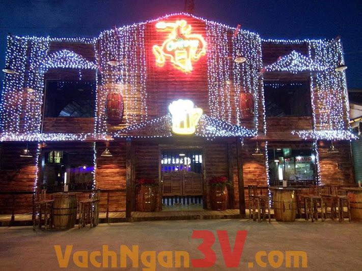 Thi công vách ngăn vệ sinh tại Beer Club CowBoy, Biên Hòa, Đồng Nai