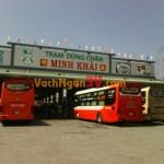 Vách ngăn vệ sinh Compact HPL tại Trạm dừng chân Minh Khải, Sóc Trăng