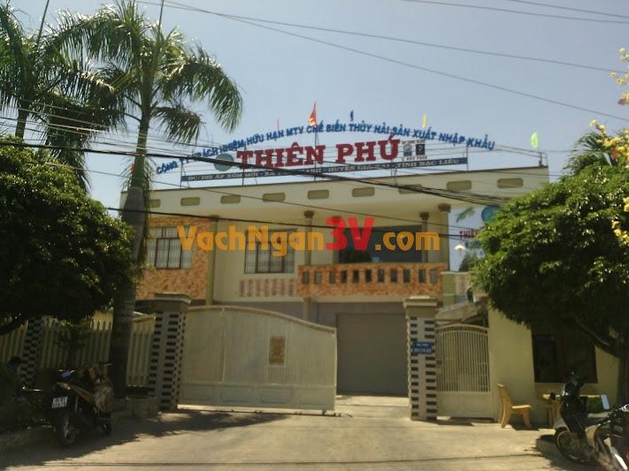 Vách ngăn vệ sinh tại Công ty Thiên Phú, Giá Rai, Bạc Liêu