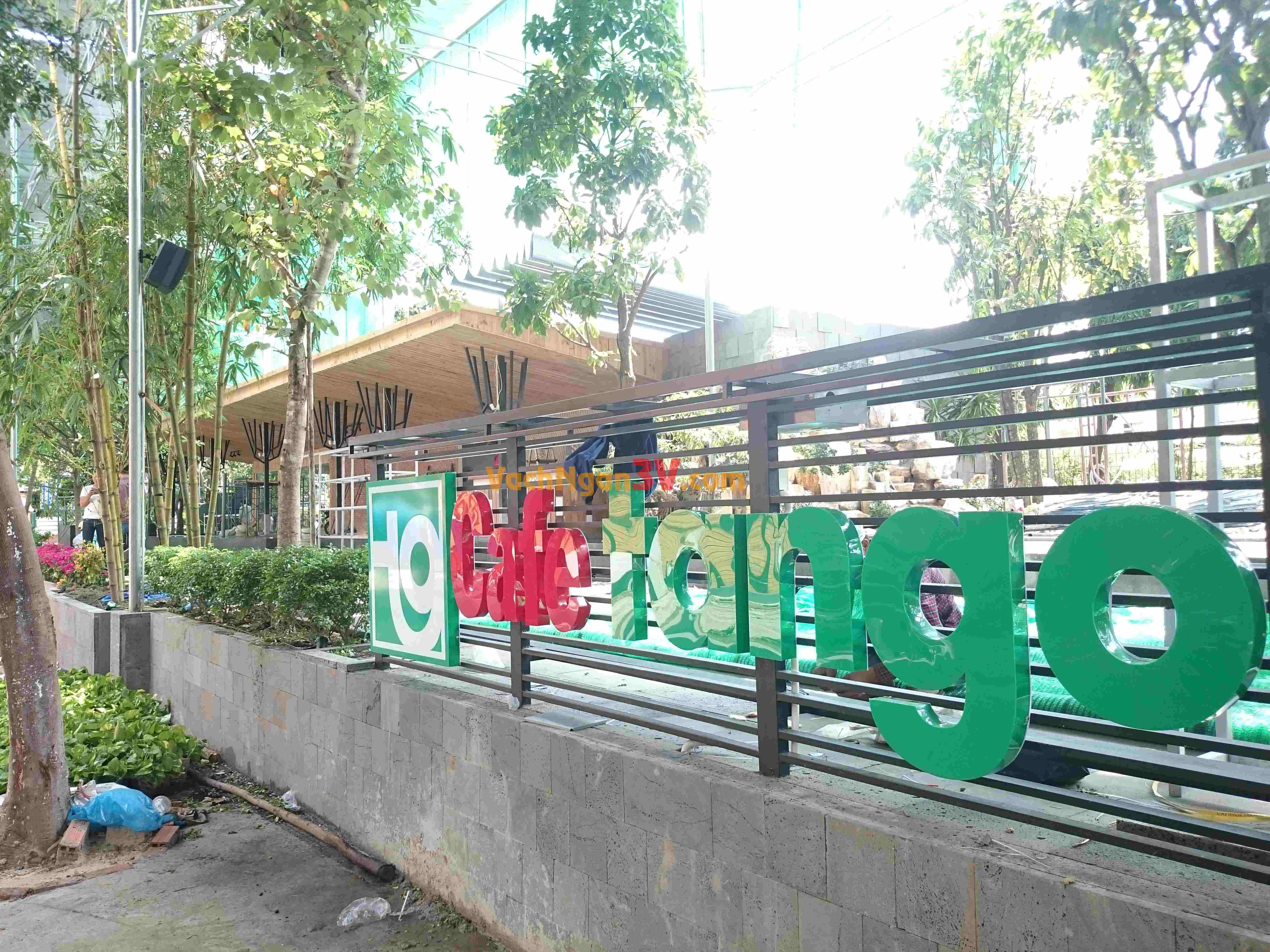 Quán cafe Tango – Quán cafe đẹp tại Tân Phú