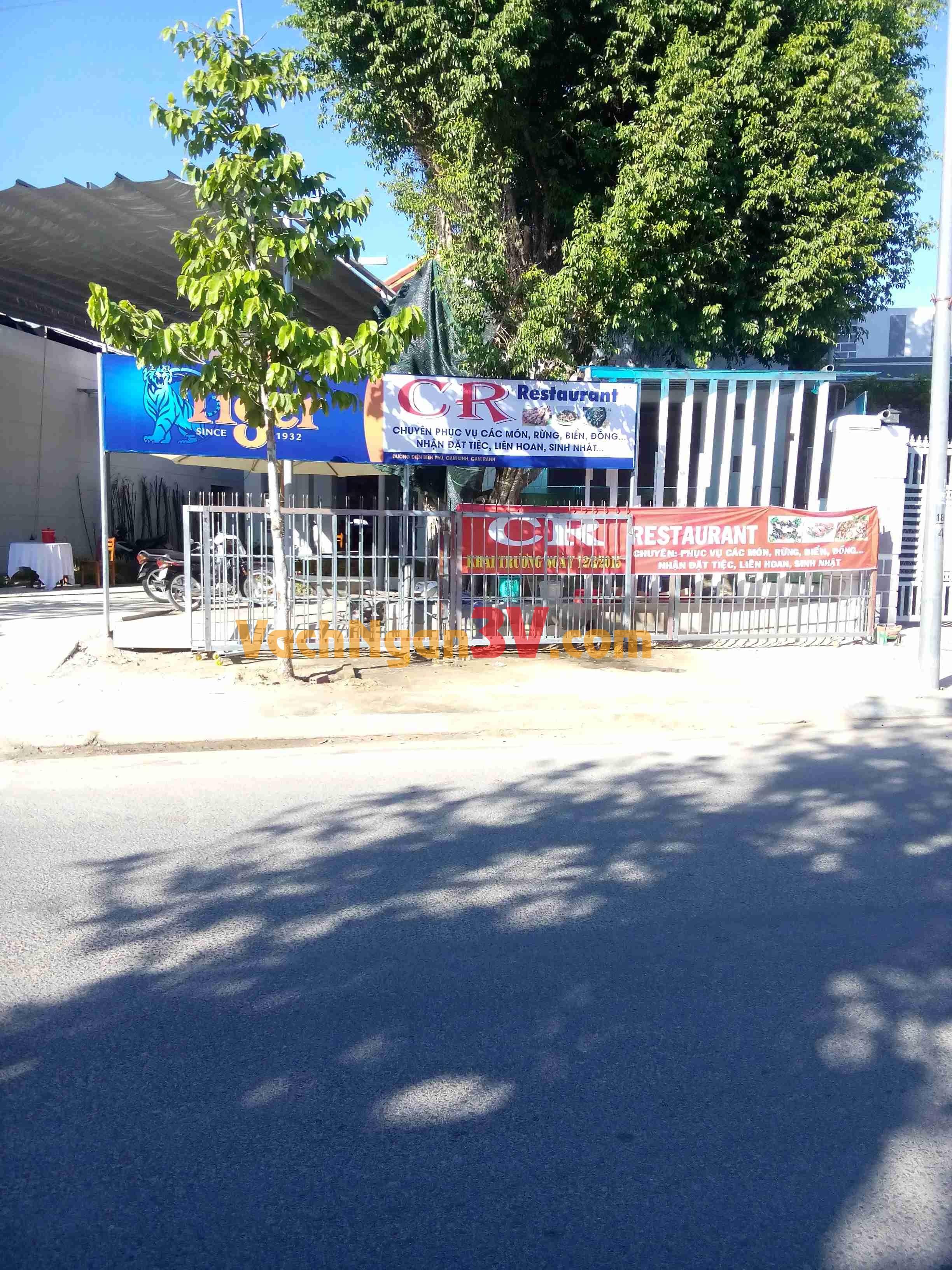 Công Trình Lắp Đặt CR RESTAURANT Tại Cam Ranh Khánh Hòa