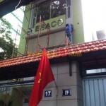 Lắp đặt hệ thống vách ngăn vệ sinh tại ESACO