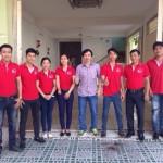 Vách ngăn vệ sinh 3V Khai trương văn phòng đại diện Tại Cần Thơ
