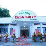 3V  thi công vách ngăn vệ sinh tại nhà hàng KHÔNG GIAN VIP – Tp. Đà Nẵng