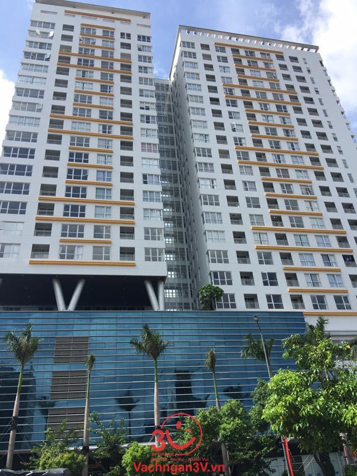 3V thi công vách ngăn vệ sinh MFC dự án The Prince Residence – Phú Nhuận, TP HCM