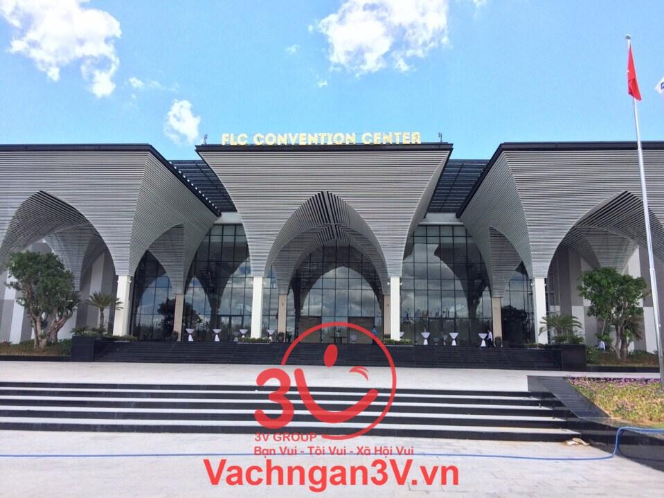 3V GROUP cung cấp và thi công vách ngăn Compact HPL dự án sân golt FLC GOLT LINKS – Bình Định