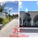 3V  thi công  vách ngăn vệ sinh HPL cho Dự án Quần thể sân golf cao cấp FLC, Bình Định