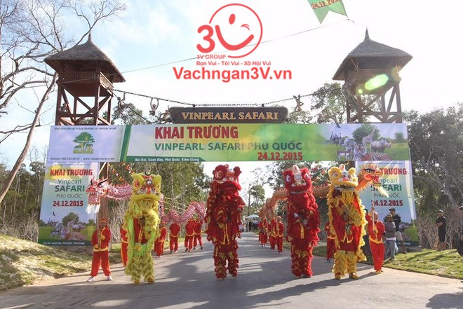 3V thi công vách ngăn vệ sinh chất lượng cao Vườn thú Vinpearl Safari Phú Quốc, Kiên Giang